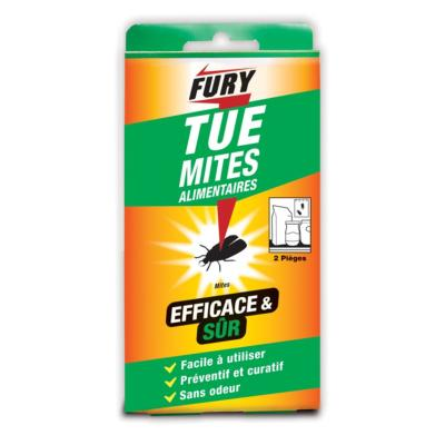 PIEGES A MITES ALIMENTAIRES FURY ETUI DE 2 PIEGES